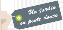 Le Logo de Un jardin en pente douce