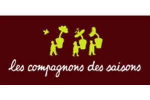 Le logo Les compagnons des saisons