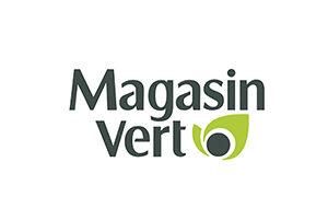 le logo de Magasin Vert