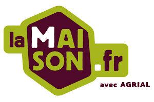 Le logo de La Maison .fr