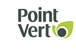 Le logo de Point Vert